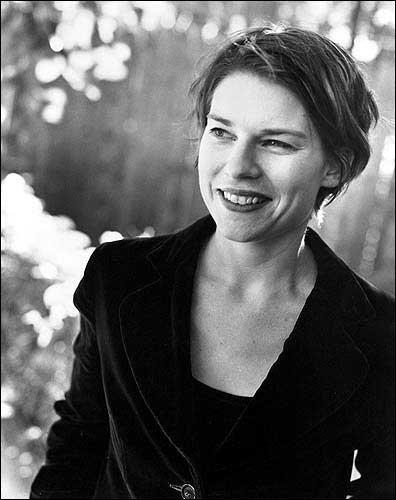 Black and white author photo of Maud Casey