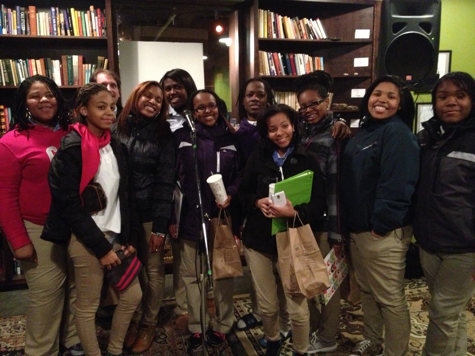 Seed students after their reading.