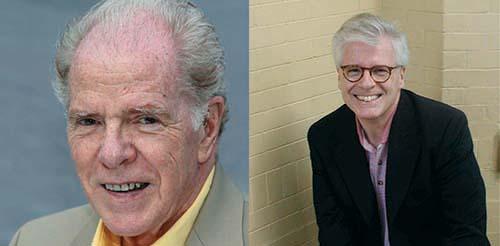 William Kennedy (left) & Thomas Mallon (right)