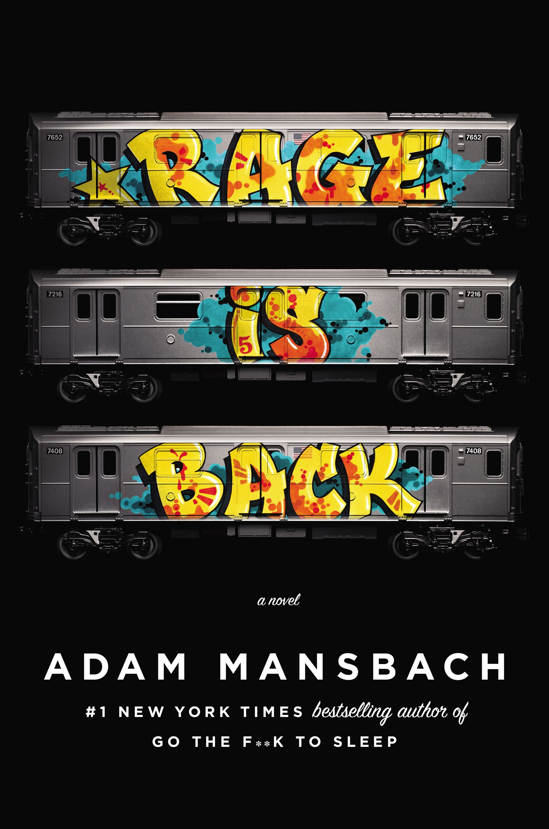 "Adam Mansbach's ""Rage is Back"" book jacket image"