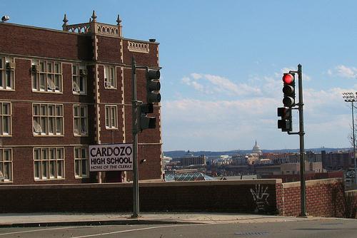 Cardozo High School in Washington DC
