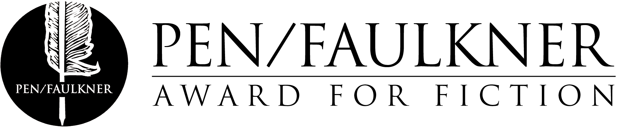 PEN/Faulkner Award for Fiction - logo and text