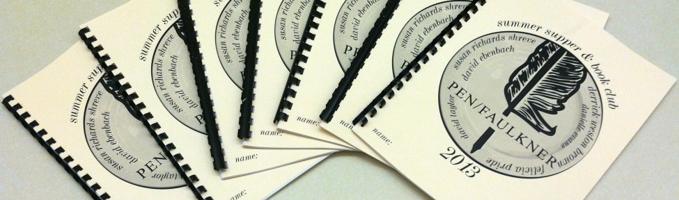 Copies of the 2013 Summer Supper & Book Club Instructional Packet