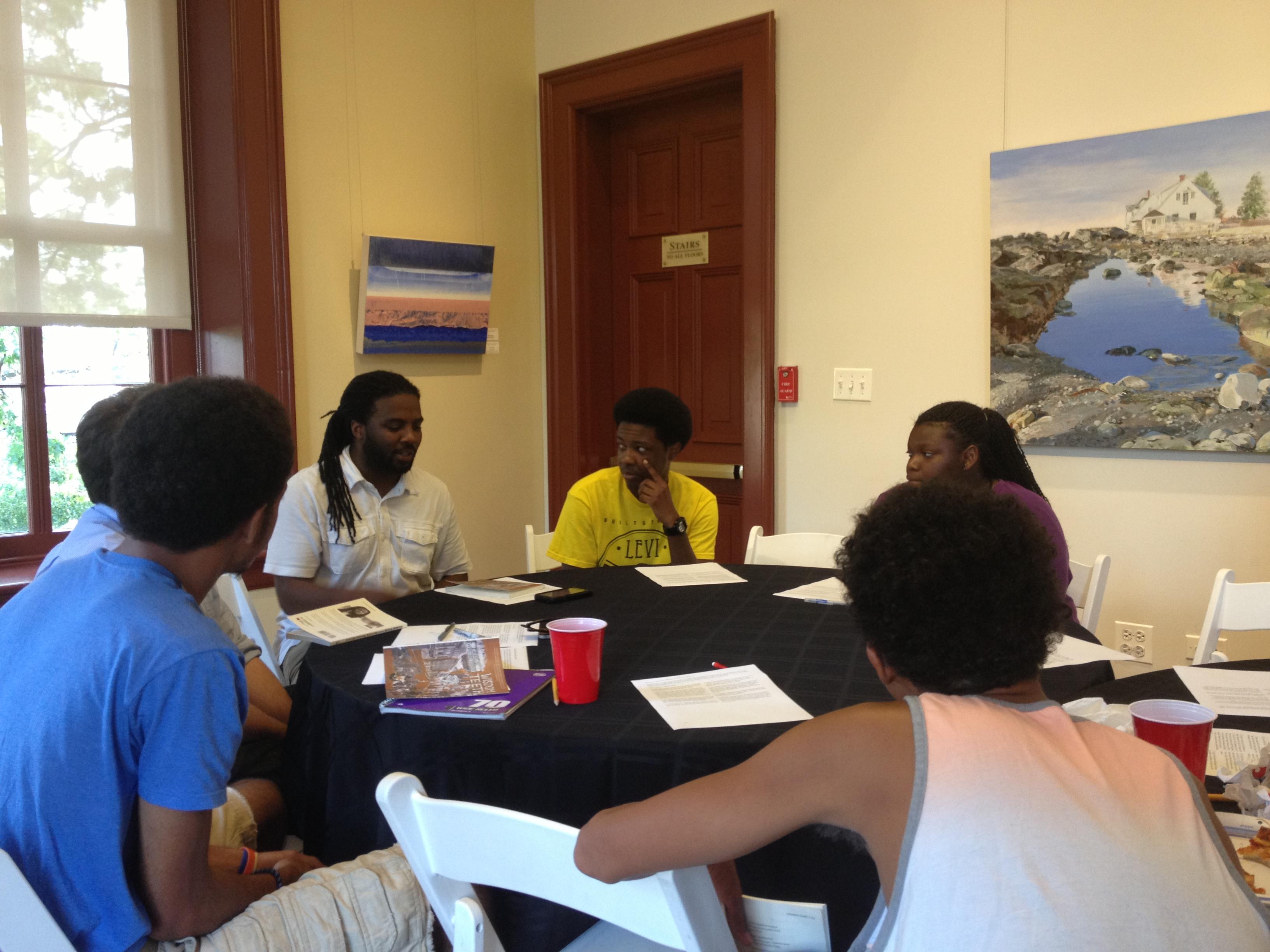 Derrick Weston Brown at PEN/Faulkner's Summer Supper & Book Club