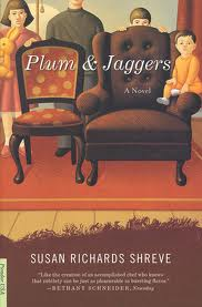 "Book Jacket for ""Plum & Jaggers"""
