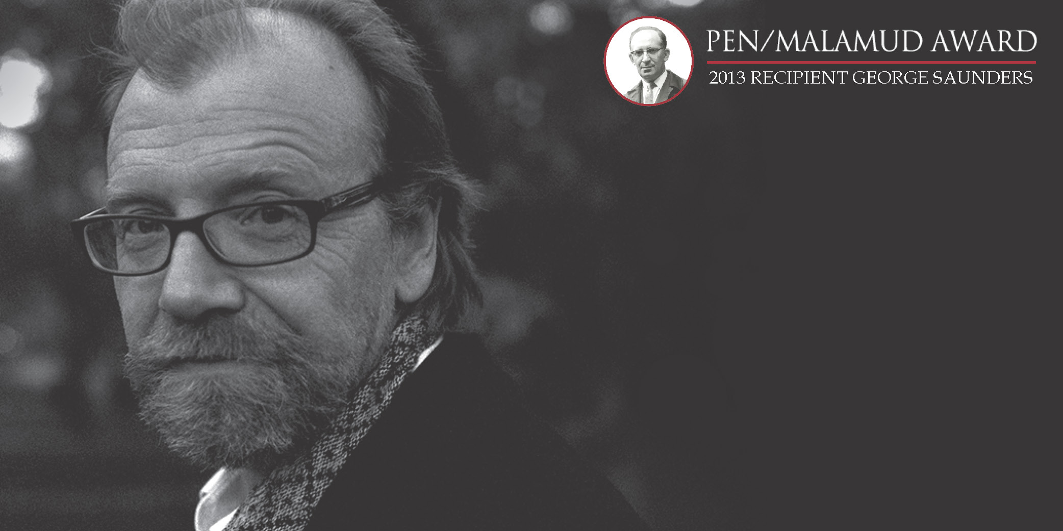 George Saunders - 2013 PEN/Malamud Award for Excellence in the Short Story