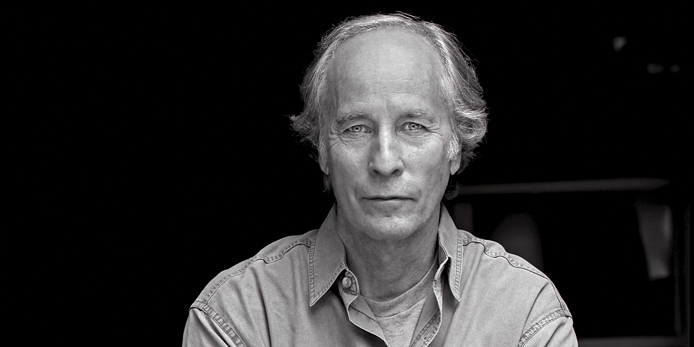 Richard Ford author photo - black and white - photo credit: Laura Wilson