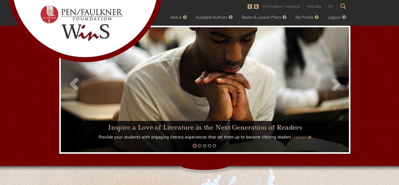 Screen Shot of WinS Web Platform