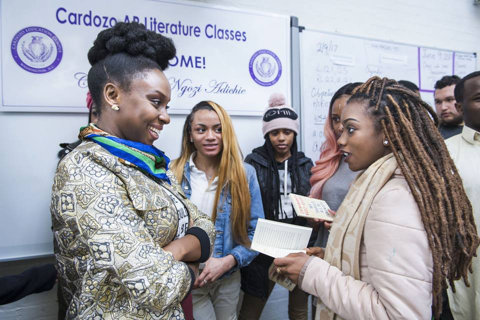 Chimamanda Ngozi Adichie at Cardozo Education Campus