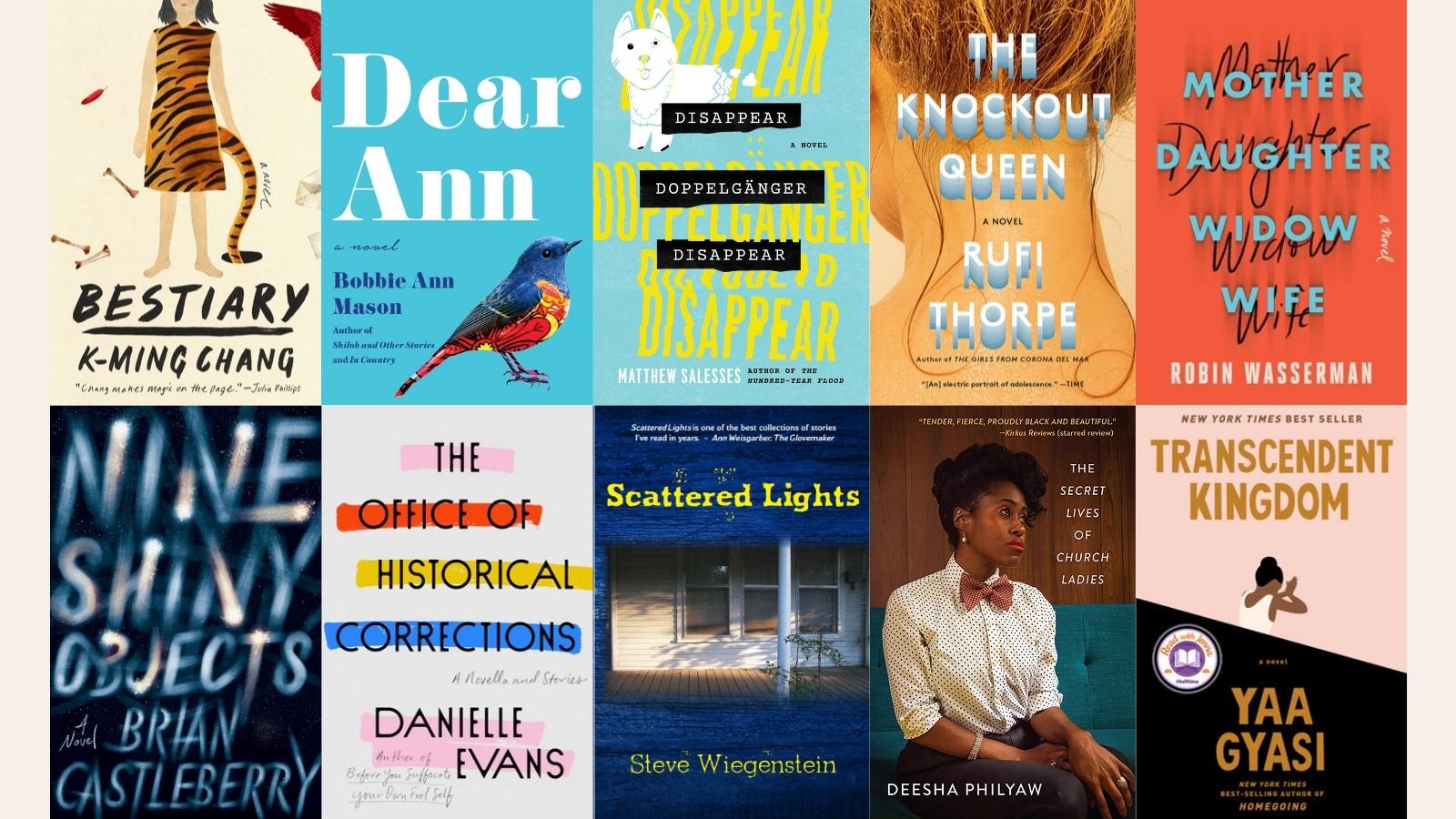 2021 PF Award Longlist Book Covers